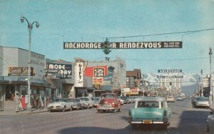 ANCHORAGE , Alaska , 40-50s ; Fourth Avenue