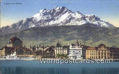 Mit Pilatus Luzern Swizerland Unused