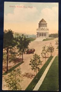 Postcard Unused Grants Tomb NYC NY LB
