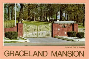 TN - Memphis. Graceland Mansion