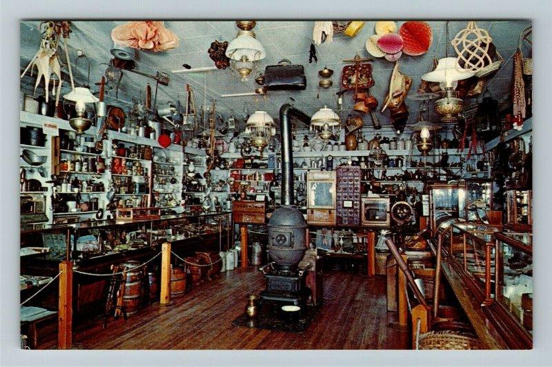 Minden NE- Nebraska, Old General Store, Pioneer Village, Chrome Postcard