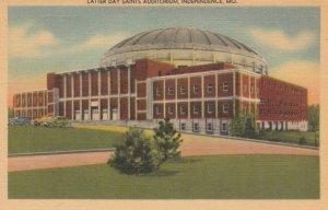 INDEPENDENCE, Missouri, 1930-1940s ; Latter Day Saints Auditorium