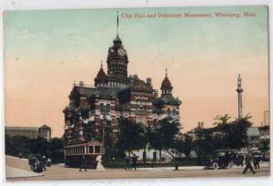 City Hall & Volunteer Monument, Winnipeg, Man