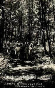 Detroit USA Girl Scouts, Scout, Scouting, Postcard Postcards  Detroit USA Gir...