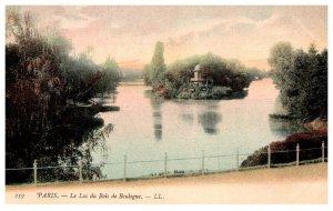France Paris  Le Lac du Bois Boilgne