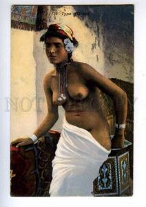 192486 Semi-nude Arabian girl Vintage Lehnert & Landrock PC
