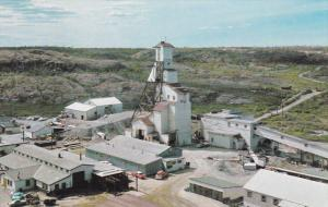 C Shaft Head Frame , Mine , YELLOWKNIFE, N.W.T., Canada , 50-60s