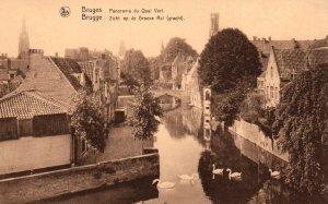 Panorama du Quai Vert,Bruges,Belgium BIN