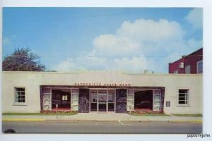 Batesville IN State Bank The Furniture City Postcard