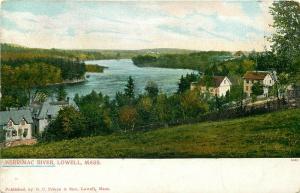MA, Lowell, Massachusetts, Merrimac River, Metropolitan News No. 5645