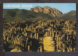 Cochise Head AZ Postcard BIN
