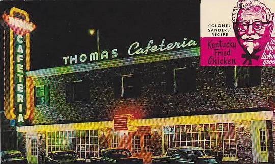 Kentucky Fried En Thomas Cafeteria Myrtle Beach South Carolina 40 60s
