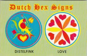 Dutch Hex Signs Distelfink & Love