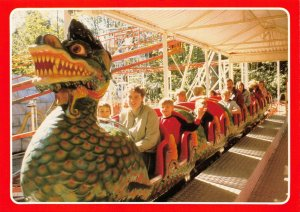 Postcard, The Dragon, Alton Towers Leisure Park, North Staffordshire 3Z