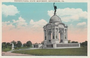 GETTYSBURG , Pennsylvania, 1910s ; Pennsylvania State Monument