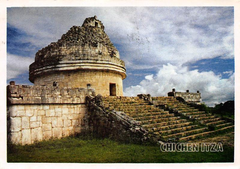 Mexico Yucatan Chichen Itza The Observatoire Caracol The Observatory