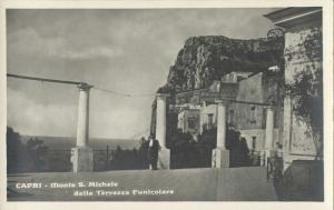 italy CAPRI, Monte S. Michele dalla Terrazza Funicolare