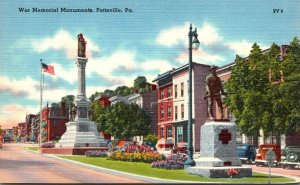 Pennsylvania Pottsville War Memorial Monuments