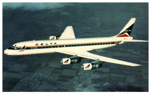 Delta Air Lines DC-8  Fanjet