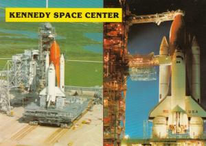 Space Shuttles , Kennedy Space Center Florida , 1980s