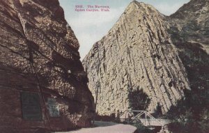 The Narrows in OGDEN CANYON , Utah, 1900-10s
