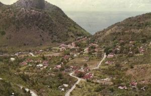 saba, N.W.I., THE BOTTOM, Panorama (1960s)