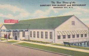 North Carolina Moorehead City Sanitary Fish Market & Restaurant Curteich