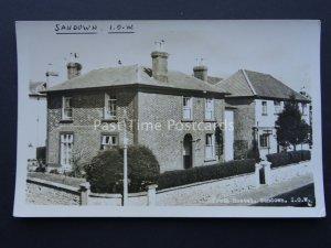 Youth Hostel SANDOWN YHA Isle of Wight c1960/70's RP Postcard by YHA