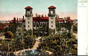 Florida St Augustine Hotel Alcazar Tucks