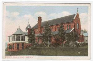 Episcopal Church Sioux Falls South Dakota 1920 postcard