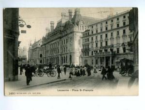 138336 Switzerland LAUSANNE Place St.Francois HOTEL Gibbon OLD