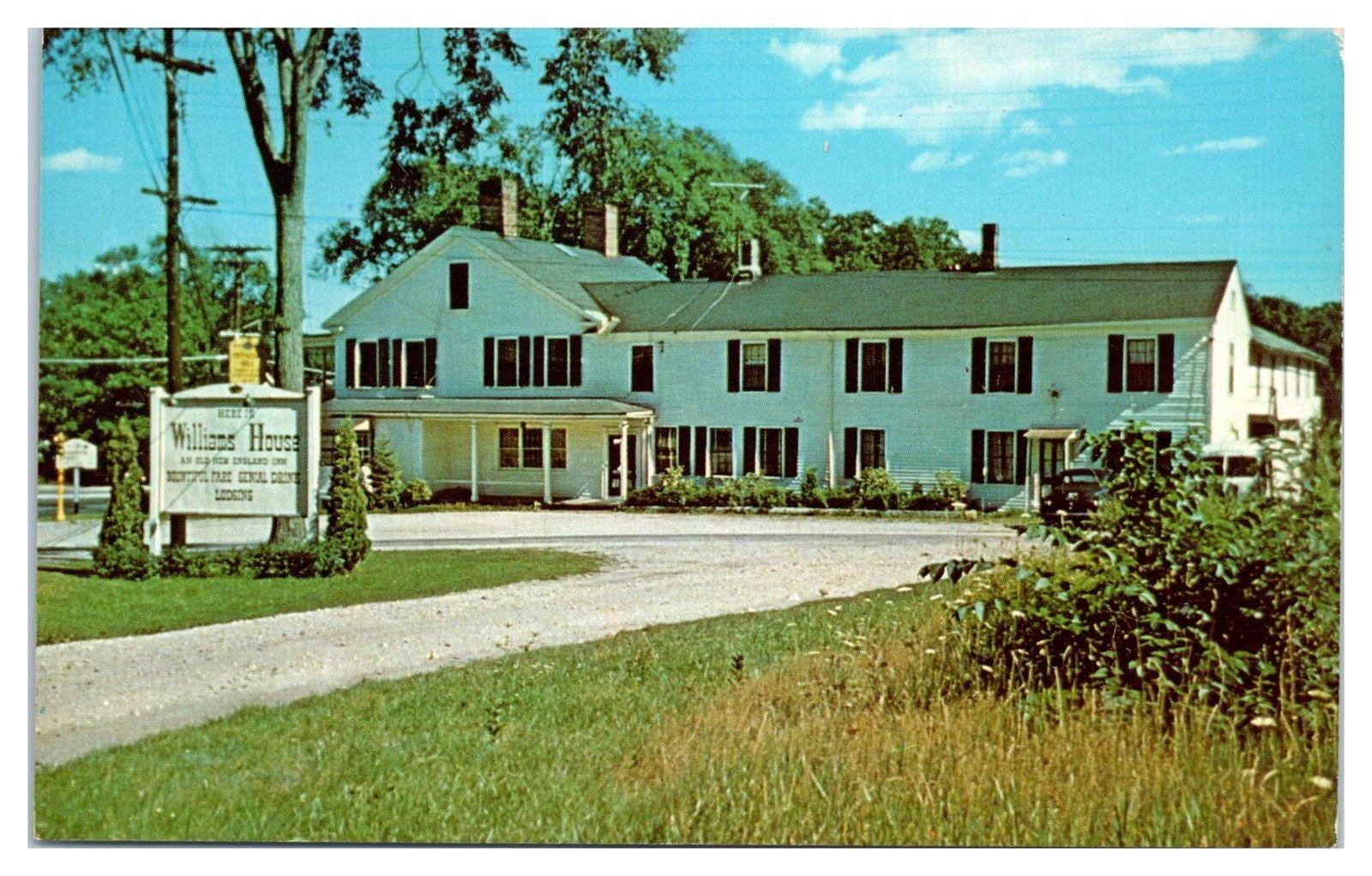 1950s60s Williams House Restaurant Cocktail Lounge Williamsburg