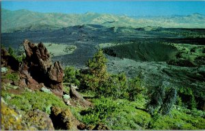 Vintage Idaho Postcard, Landscape , Craters of the Moon National Monument, pb24