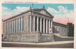 YOUNGSTOWN, Ohio, PU-1931; The Stambaugh Auditorium
