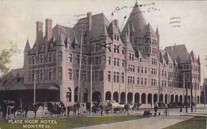 Exterior, Place Viger Hotel, Montreal, Quebec, Canada, PU_1907