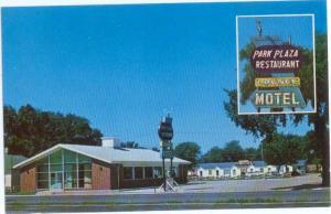 Park Plaza Motel So. Sioux City Nebraska NE