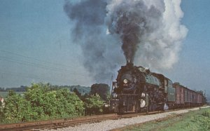 Southern 1477 Train from Knoxville To Bristol USA Postcard