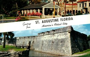 Florida Greetings From St Augustine