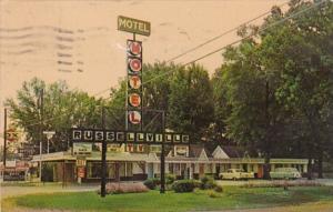 Arkansas Russellville The Russellville Motel 1967