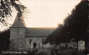 Catsfield Church Entrance Eglise Postcard