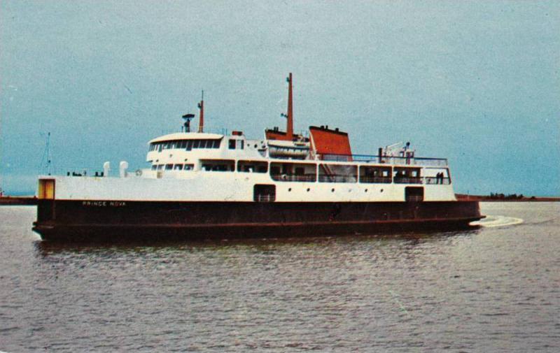 Ship M.V. PRINCE NOVA, Charlottetown , P.E.I. , Canada 40-60s