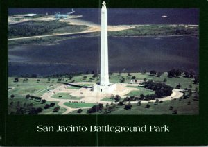 Texas Houston San Jacinto Battleground Park Monument and Museum