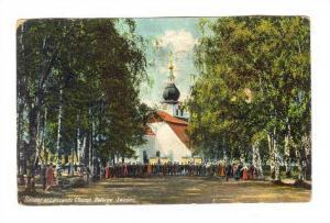 Sunday at Leksands Church , Dalarne. Sweden, PU-1916
