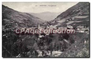 Postcard Old Areches Vue Generale