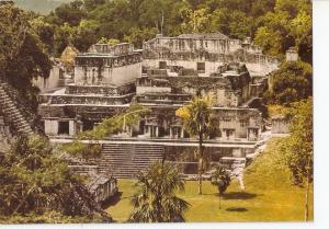 Postal 031402 : Acropolis Central Tikal. Guatemala C.A.