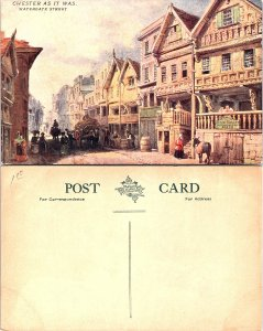 Chester - Cheshire - Watergate Street, Chester As It Was
