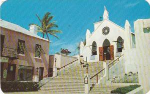 Bermuda St George's St Peter's Church 1962