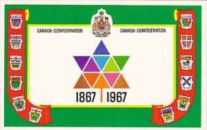 Canada Confederation 1867-1967 Prime Ministers Crests