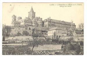 CAEN, L'Hotel-Dieu et l'Eglise de la Trinite, Abbaye aux Dames, Calvados, Fra...
