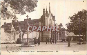 Postcard Old Nice Cimiez Convent Army